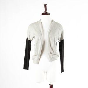 VINCE – Colorblock Cotton Cashmere Blend Sweater